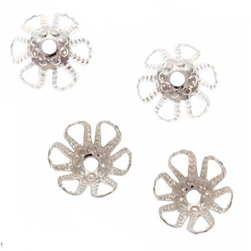 flower cone beads - 8