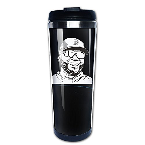 Boomy Cool David Smile Ortiz Stainless Steel Coffee Mug For Indoor & Outdoor Office School Gym Use