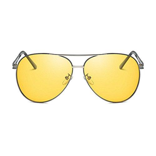 Aoligei Couleur photosensible Polarized jour comme de nuit double usage UV Shing de lunettes de soleil F