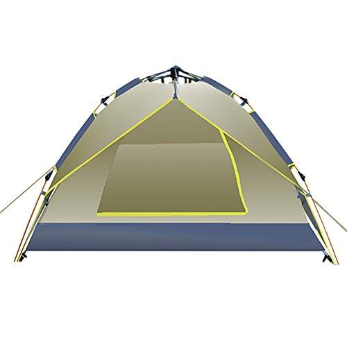 すり後ペインティングoutdoor3 – 4自動テント人/ダブル二層防水キャンプテントin the Field /テント