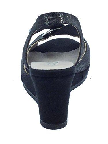 Cinzia Glitter Nero Pour Sandales Femme Soft Noir 51551cs E4qRSrE