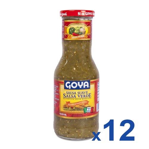 Goya Salsa Medium Verde Tangy Green Salsa 17 6 Oz