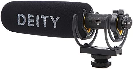 Deity V-Mic D3 Super-Cardioid Directional Condenser Video Microphone Camera Mic Professional Off-axis SNR Low Distortion Mic with 3.5mm TRRS Cable MIC for DSLR Camcorder
