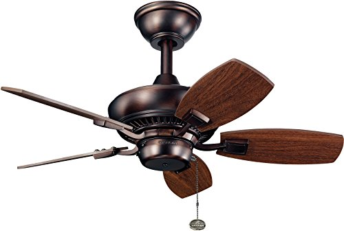 """Kichler 300103OBB, Canfield Oil Brushed Bronze 30"""" Outdoor Ceiling Fan from Kichler"""