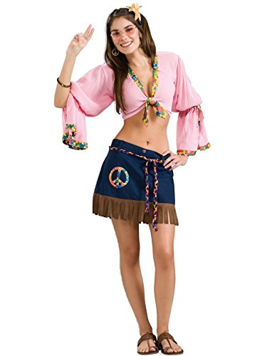 Forum Novelties Women's Generation Hippie Sexy Hippie Chickie Costume, Multi, One Size]()