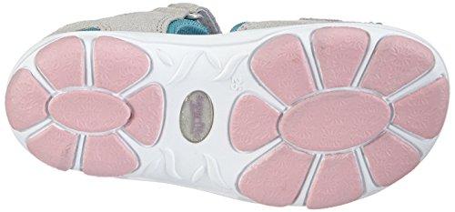 Superfit NELLY 1 - sandalias abiertas de piel niña gris - Grau (GRIFFIN KOMBI 44)