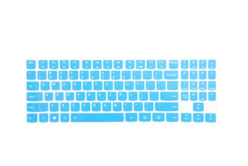 LEZE - Ultra Thin Keyboard Cover for 15.6 Inch Lenovo Legion Y720 Y520 Gaming Laptop - Blue