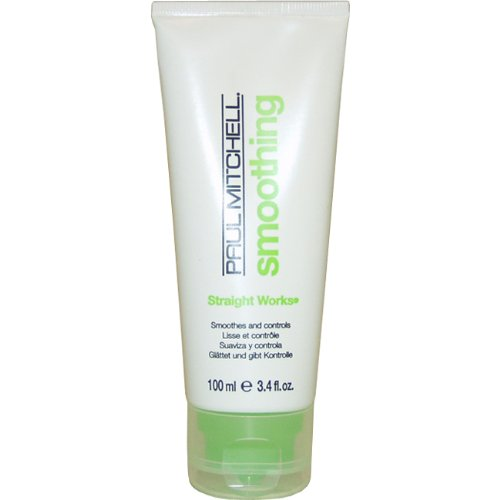 Straight Works By Paul Mitchell for Unisex, 3.4 Ounce