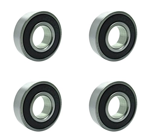 Sealed Double 2rs Bearing - Four (4) 99502H-2RS Double Sealed Ball Bearings 5/8 x 1 3/8 x 7/16 Inch