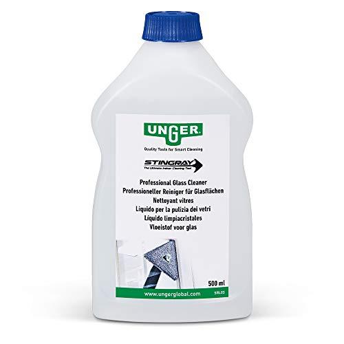 Unger Glasreiniger voor Stingray (0,5 liter, streepvrije raamreiniging, verwijdert tegen vet-/vingerafdrukken, zeer…