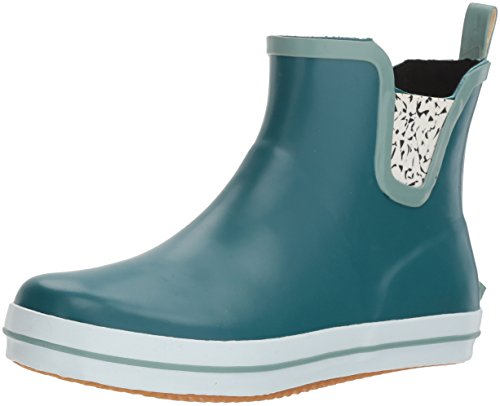 Kamik Green (Kamik Women's Sharonlo Rain Boot, Teal, 6 Medium US)