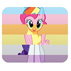 Game My Little Pony Customized Standard Rectangle Black Mouse Pad Mat