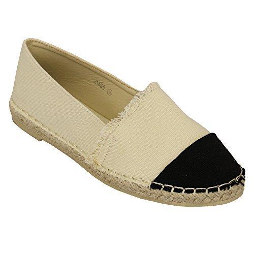 Zapatillas Lona Mujer Alpargatas Zapatillas Sin Cordones Bella Estrella: Amazon.es: Zapatos y complementos