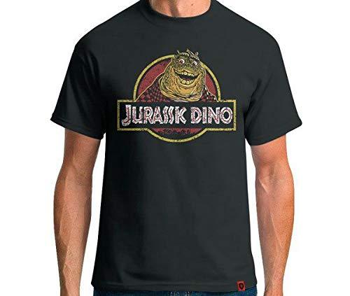 Camiseta Jurassic Dino Cor:cinza;tamanho:m