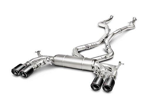 Akrapovic 15-17 BMW X5M (F85) Evolution Line Cat Back (Titanium) w/ Carbon Tips