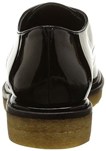 Castañer Blossom-Patent Leather, Chaussures Femme Noir (Black)