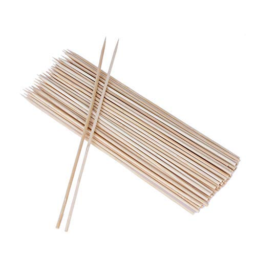 Che-good Bbq Accessories - 100pcs 30cm Disposable Barbecue Sticks Bbq Skewers Outdoor Picnic Family Party Meat Food Long - Kids Hose Mat For Funny Apron Men Bucket Kabob Cover
