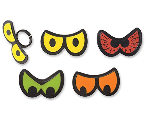 Halloween Party Scary Eyes Cupcake Rings - 24 pc ()