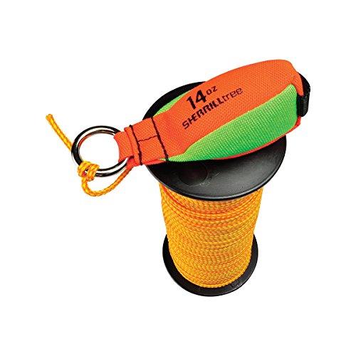 SherrillTree SET91 Throweight Set Throw Line Combo, 14 o.z, Orange