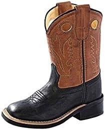 Toddler-Boys' Corona Cowboy Boot Square Toe - Bsi1853