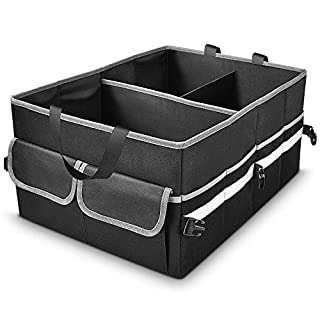 Car Trunk Organizer,Car Trunk Organizers and Storage,Trunk Organizer for Car,Groceries,Non Slip Suitable for Any Car,Suv,Mini-van Models Size,3 IN 1