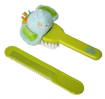 Amazon.com: Tuc Tuc pelo de bebé juego de peine y cepillo ...