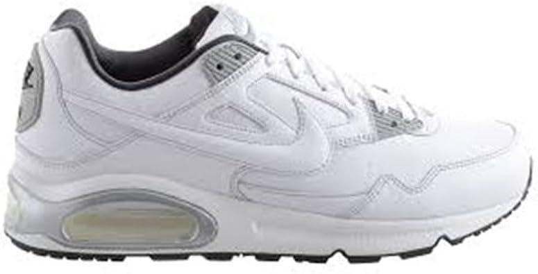 Nike Air MAX Skyline Leather - Zapatillas de Running para Hombre, Color Blanco/Gris, Talla 47: Amazon.es: Zapatos y complementos