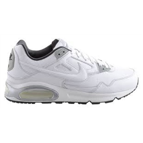 Nike Air Max Skyline Leather - Zapatillas de running para hombre, color blanco / gris
