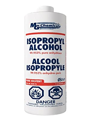 MG Chemicals 99.9% Isopropyl Alcohol Liquid Cleaner, 945ML (1 US Quart), Clear by MG Chemicals