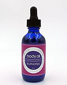 goobsi Organic Body Oil, Euphoria, 2 oz
