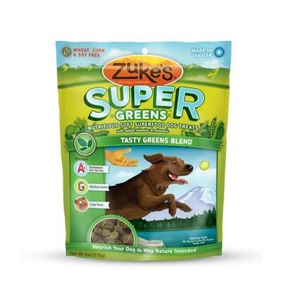 Zuke'S Super Treats Dog Greens 6 Oz