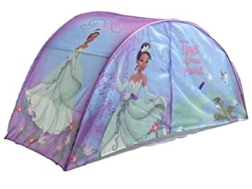 Disney Princess and The Frog Bed Tent with Push Light  sc 1 st  Amazon.com & Amazon.com: Disney Princess and The Frog Bed Tent with Push Light ...