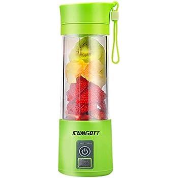 Amazon Com Portable Blender Usb Juicer Cup Sumgott