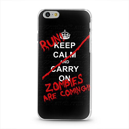 Coque Iphone 7 Keep Calm and ... Run Zombies are coming !!