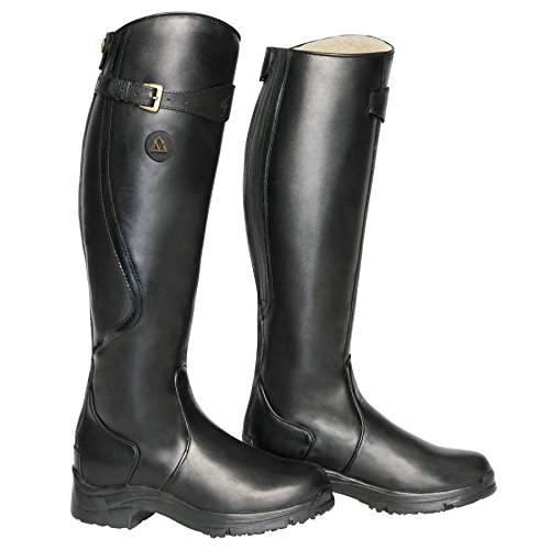 Mountain Horse Snowy River Tall Boot 11W Black (Mountain Horse Riding Boots)