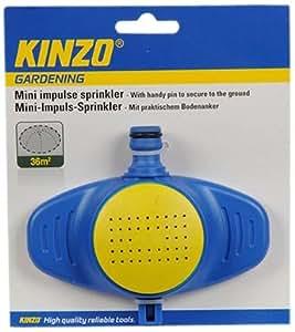 Kinzo 29281 - Mini aspersor para fijar en el suelo