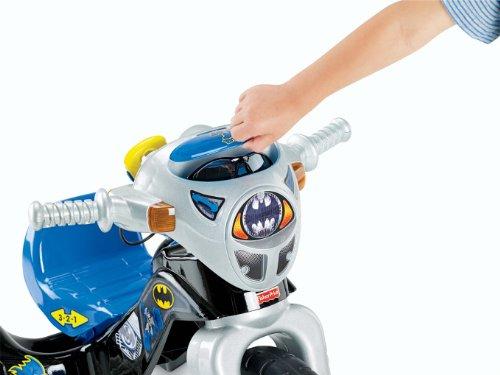 Fisher-Price DC Super Friends Batman Lights & Sounds Trike