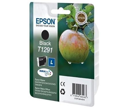 Epson Singlepack Black T1291 DURABrite Ultra Ink - Cartucho de ...