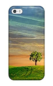 YbemHgD4294hBSGh Snap On Case Cover Skin For Iphone 5/5s(only To Be With You Green White Yellow Tree Grass Nature Other)