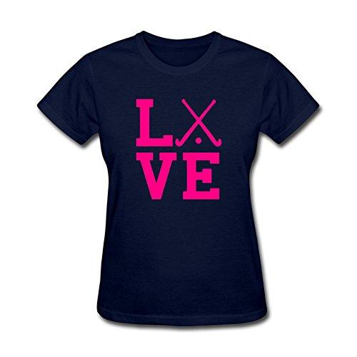 Women's Women's Love Field Hockey T-Shirt Short Sleeve - South Florida Remix Band