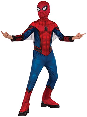 Spiderman Dress For Kid (Rubie's Costume Spider-Man Homecoming Child's Costume, Multicolor, Large)