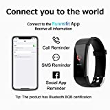 Fitness Tracker with Blood Pressure Heart Rate