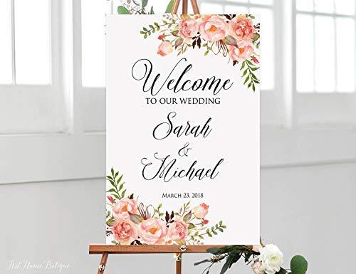 weewen - Cartel de Bienvenida de Coral, con Texto en inglés ...