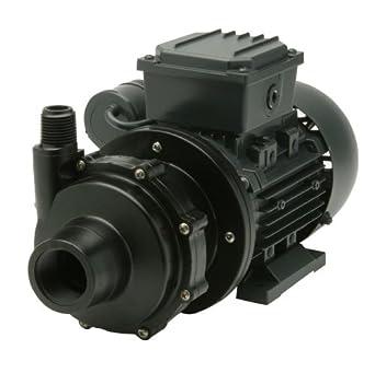 Finish Thompson DB3V-T-M612 Centrifugal Magnetic Drive Pump, PVDF, 1/8 HP, 115V, 1 Phase, 20.4 Max Feet of Head, 15.1 gpm