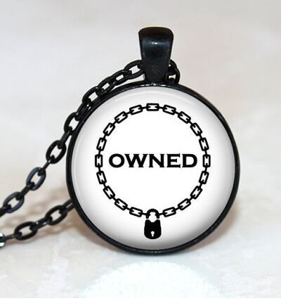 Amazon Owned Pendant Bdsm Pendant Fetish Necklace Submissive