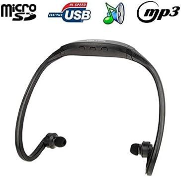 Auriculares para reproductor MP3 de audio inalámbrico Micro SD ...
