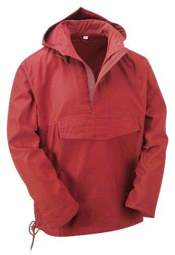 Chaqueta hombre Rojo impermeable para Unbekannt P8xwf1q8