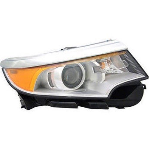 - Go-Parts OE Replacement for 2011-2014 Ford Edge Front Headlight Headlamp Assembly Front Housing/Lens / Cover - Right (Passenger) Side - (Limited + SE + SEL) BT4Z 13008 A FO2503291 f
