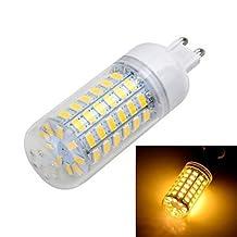 ZQ Modern LED corn light G9 10W 1000LM 6500K/3000K 56-5730 SMD Warm/Cool White Light LED Corn Bulb (AC 220~240V) , Warm White