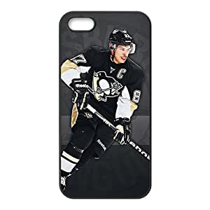 PITTSBURGH PENGUINS NHL Hockey Black Phone Case for Iphone 5s